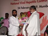 Amitabh Bachchan at National Viral Hepatitis Control program