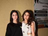 Bollywood celebrities at Sonchiriya special screening