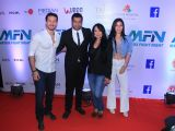 Bollywood celebrities at Matrix Fight night