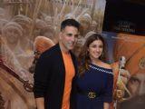Akshay Kumar and Parineeti Chopra at the promotions of Kesari!