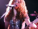 Latino star Shakira performing at MMRDA Ground