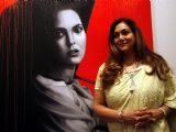 Tina Ambani at Harmony Art show in Mumbai