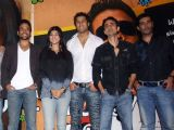 The cast of the movie KYA LOVE STORY HAI at the album release function in Mumbai