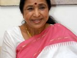Asha Bhosle at a press conference to announce a music concert 'Aapli Asha Bhosle'