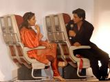 Shah Rukh Khan and Shabana Azmi unveils new comfortable seats in the Jet Airways