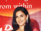 Vidya Balan launches new Dabur products,in Mumbai