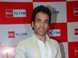 Tusshar Kapoor at big 92.7 fm, in Mumbai