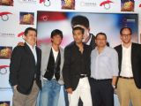 "Shah Rukh Khan and Karan Johar at ""My Name is Khan"" Press Meet, in Mumbai"