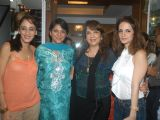 Priya Dutt and Suzanne Roshan at Ohm art exhibition at Juhu, in Mumbai
