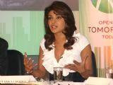 Priyanka Chopra at a press-meet for the NDTV second wave of '' Green Campaign'' in New Delhi