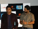 A R Rahman and Resul Pookutty at Blue film music preview at Cinemax
