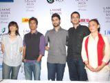 Top Designers at Lakme fashion week press meet