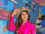 Rambha promotes Dolly of Quick Gun Murugun with Baskin Robbin