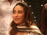 Karishma Kapoor addressing reporters during inaugaral session of I-core planet at Bhowanipure in Kolkata