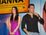 Salman Khan,Bappi Lahiri and Kareena Kapoor at Main aur Mrs Khanna music launch