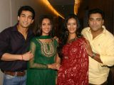 "The Star Cast of NDTV Imagine's ""Basera"" at a press-meet in New Delhi"