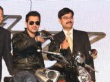 "ohn Abraham at the launch of ""Yamaha''s Super Bikes"" in New Delhi"
