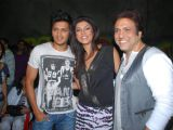 "Ritesh Desmukh, Sushmita Sen and Govinda on sets of ""Do Knot Disturb"" at Filmistan in Mumbai"