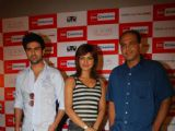 Whats ur Rashee star cast Harman Baweja, Priyanka Chopra and Director Ashutosh Gowarikar at R Mall, in Mumbai