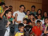 Salman Khan celebrates International Rose day with cancer affected childrens at Hinduja Hospital in Mumbai