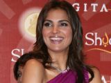 "Lara Dutta at the ""MMTC Festival of Gold"" in New Delhi"
