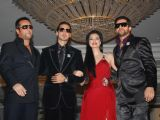 Acid Factory star cast on the ramp for Archana Kocchar Fashion Show, in Mumbai