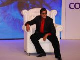 Amitabh Bachchan at the announcement of the launch date of '''' Big Boss Season-3'''', in New Delhi