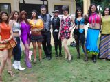 DJ Sheizwood shoots with 10 item babes at Madh in Mumbai