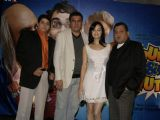"Cyrus Broacha, Boman Irani and Dia Mirza at a promotional event for their forthcmong movie ""Fruit N Nut"" in Mumbai"