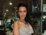 Neha Dhupia at a promotional event for jewellery brand Gitanjali in Mumbai