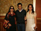 Shabana Azmi, Manish Malhotra and Anita Dongre judge Best Designer contest The Leela in Mumbai