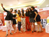 TV Celebs visit Option's Mall before the Telly Calender shoot in Jordan