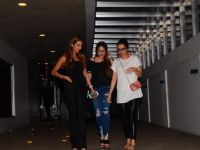 Shraddha Kapoor snapped with her friends outside 'Hakkassan'