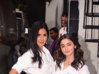 Katrina Kaif - Alia Bhatt's stylish Twinning game!
