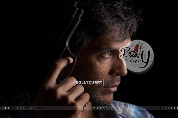 Milind Soman in the movie Nakshatra