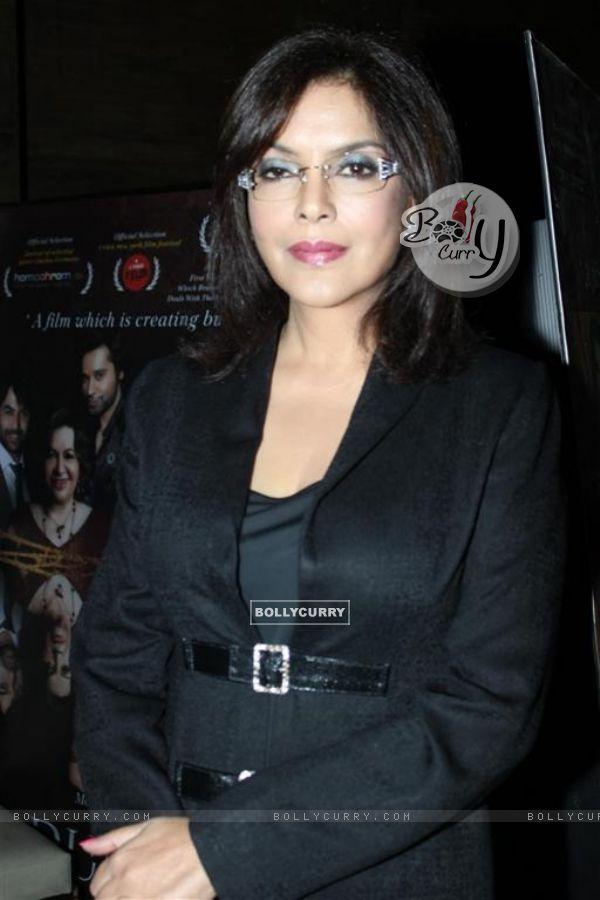 Zeenat Aman at Success party of Dunno Y... Winning Viewers Choice Award