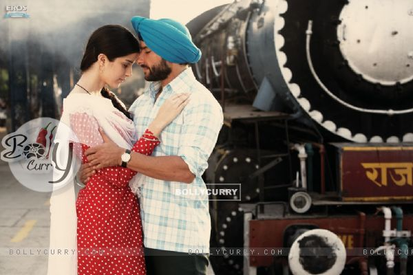 A still scene from Love Aaj Kal  movie