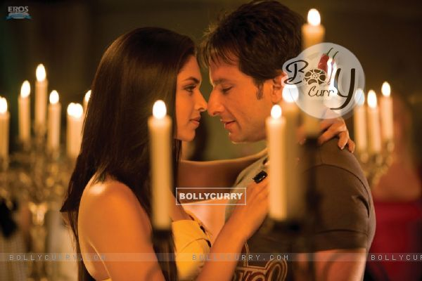 Deepika Padukone and Saif around Candles