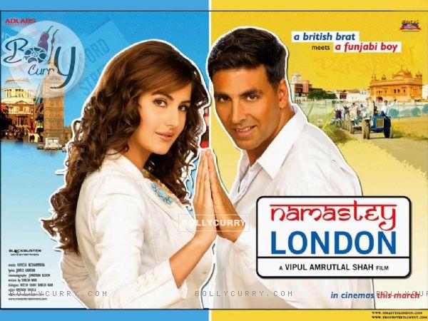 Namastey London Poster introducing akshay and katrina (11041)