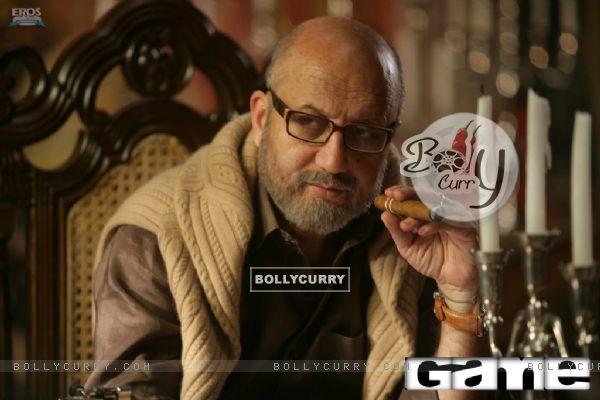 Anupam Kher as Kabir Malhotrain the movie Game(2011)