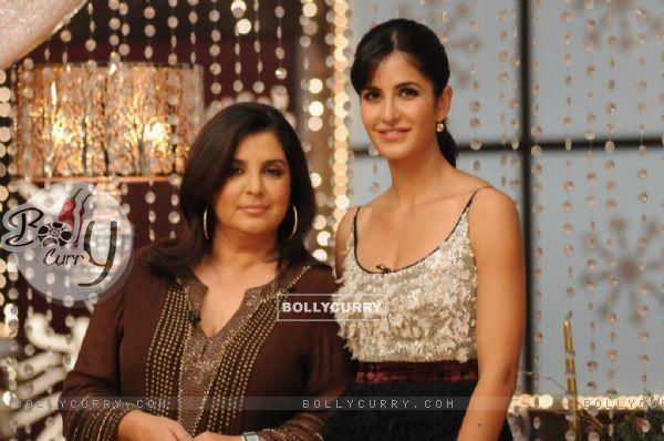 Farah Khan and Katrina Kaif at MasterChef set for Grand Finale