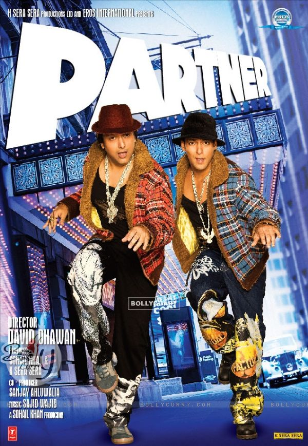 Partner Posters Partner Movie Poster With Salman And