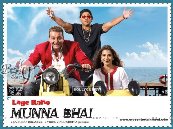 Poster of Lage Raho Munna Bhai with Sanjay,Arshad and Vidya (11427)