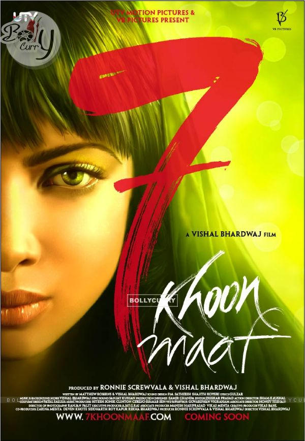 Poster of the movie 7 Khoon Maaf (114446) Poster of the movie 7 Khoon Maaf