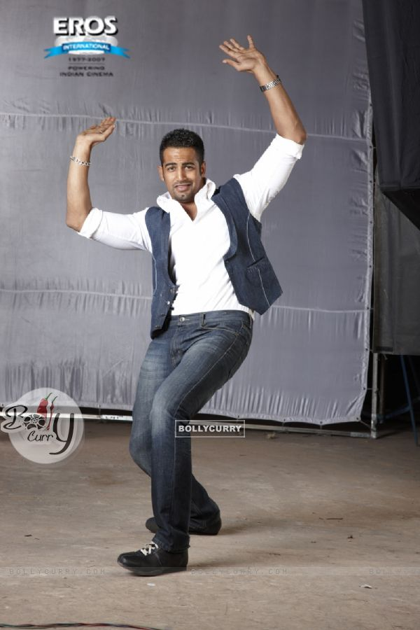 Upen Patel in a dance pose