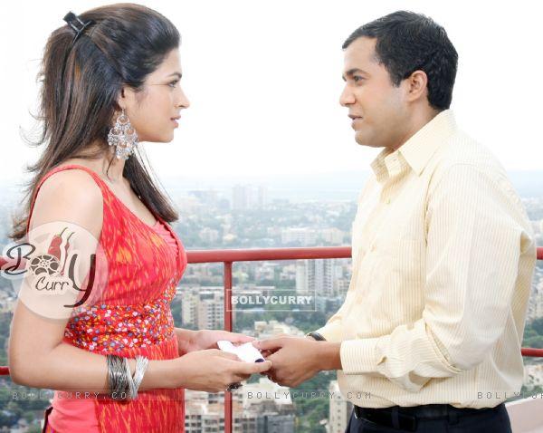 Omi Vaidya and Shraddha Das in Dil Toh Baccha Hai Ji movie