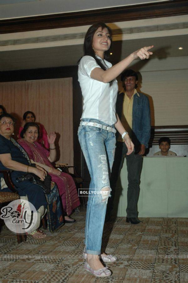 Anushka at Surbhi Foundation's press meet. .