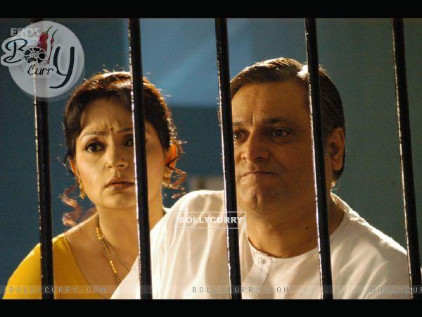 Manoj and Upasana looking shocked