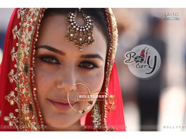 Preity Zinta looking like a bridal