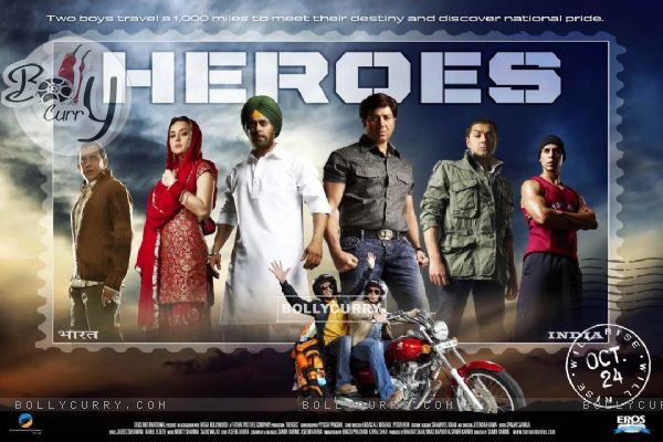 Wallpaper of Heroes movie